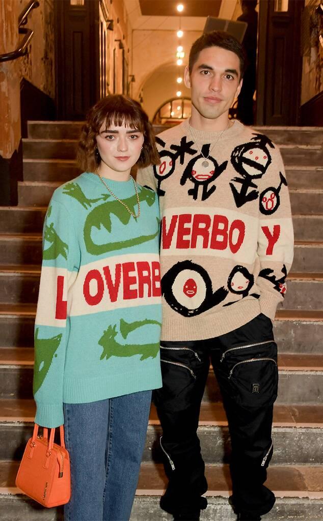 Reuben Selby e Maisie Williams - neomag.