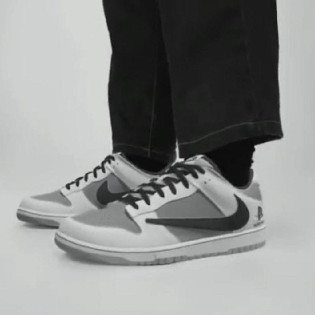 Travis Scott x PlayStation x Nike Dunk Low - Neomag.