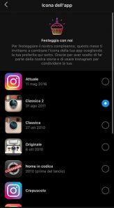 instagram cambiare icona - neomag.