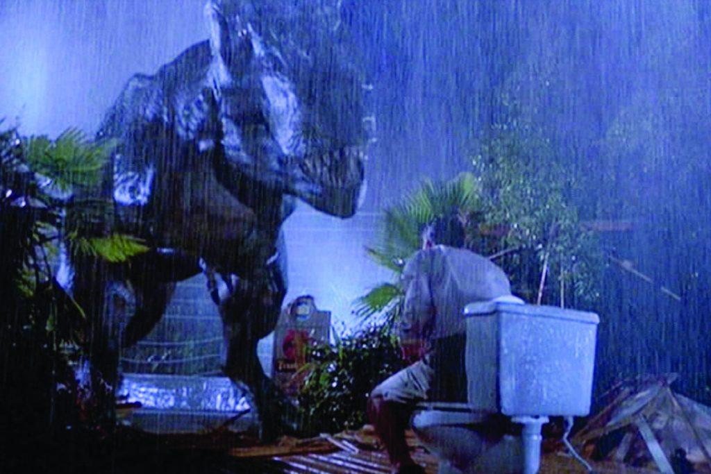 Jurassic Park in Bagno - Neomag.