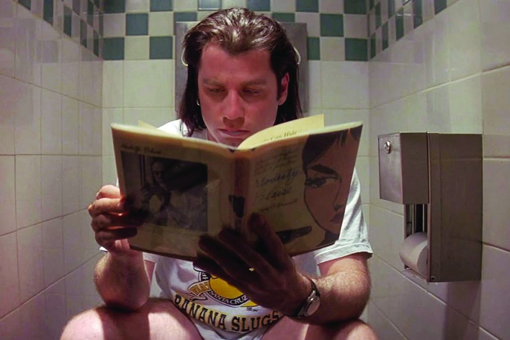 Pulp Fiction in Bagno - Neomag.