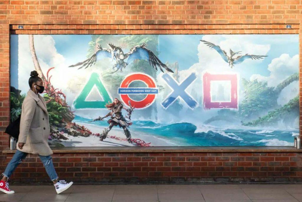 Sony nella Metro di Londra - Neomag.