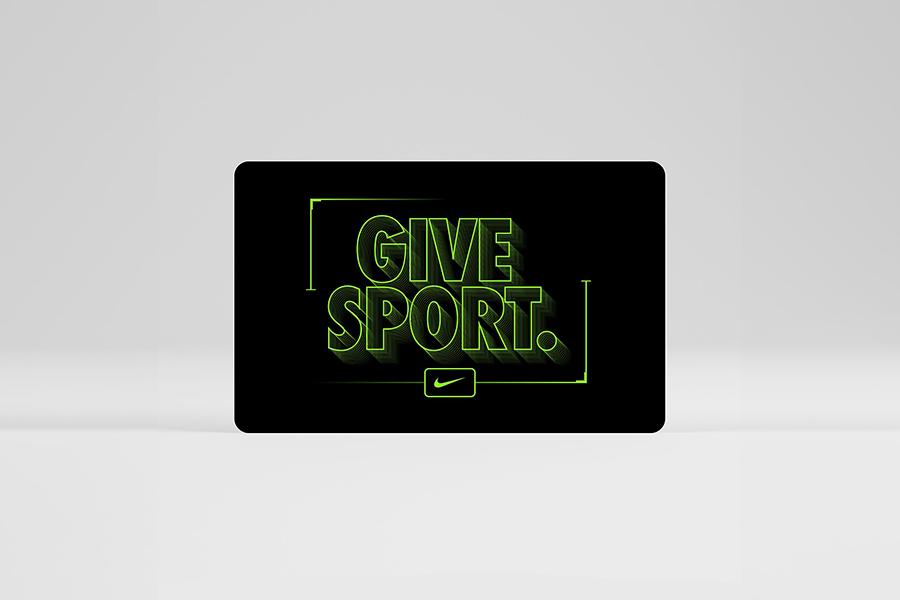 Carta Regalo Nike - Neomag.