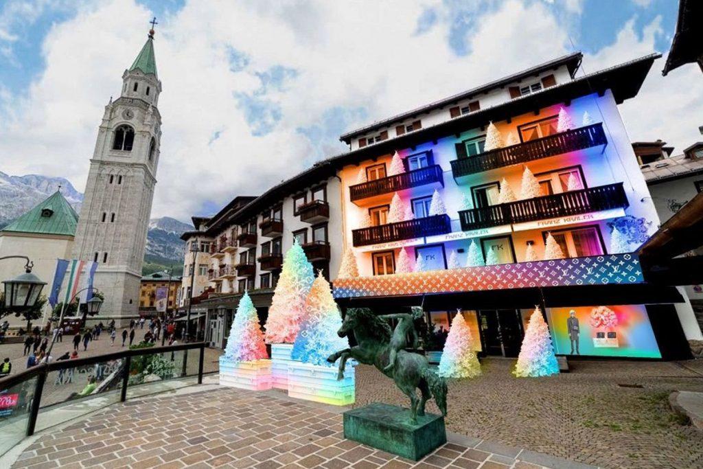 Louis Vuitton a Cortina d'Ampezzo - Neomag.