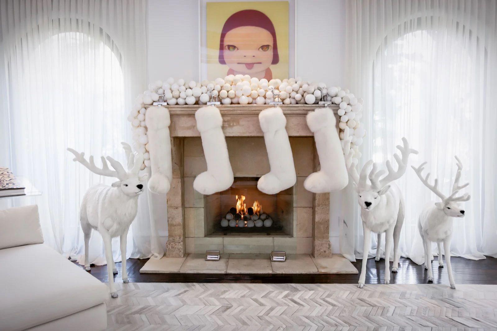 Le decorazioni di Natale di Kris Jenner - Neomag.