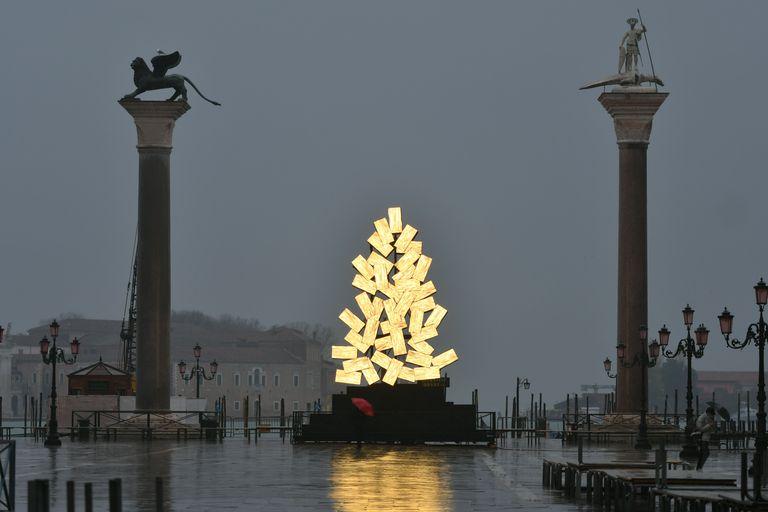 L'albero di Natale a Piazza San Marco - Neomag.