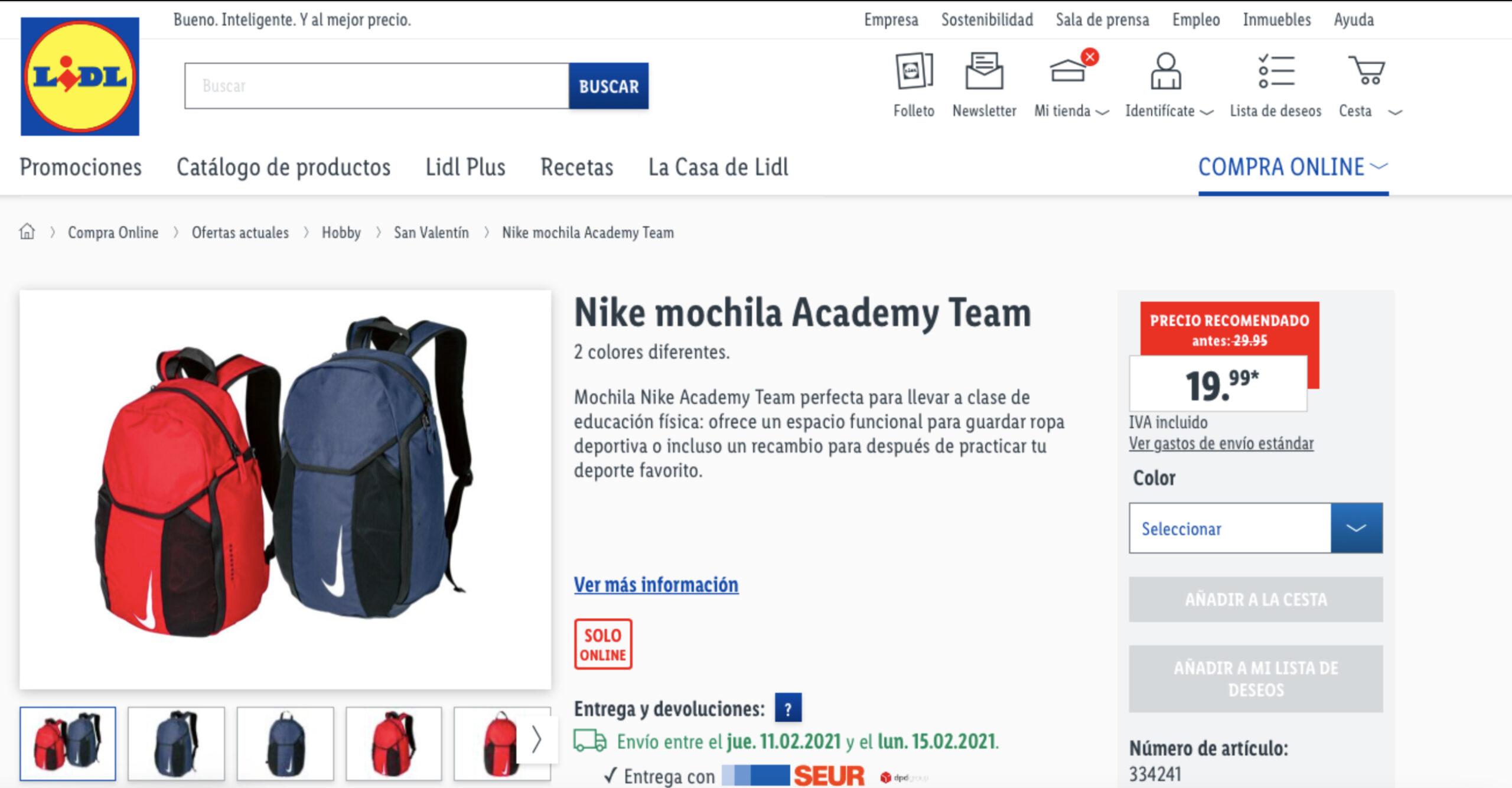 Capsule Collection di Nike per Lidl - Neomag.