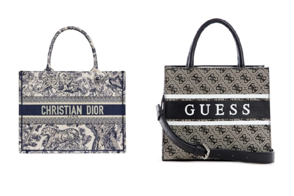 Guess vs Dior - neomag.