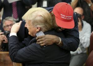 Kanye West e Trump - neomag.