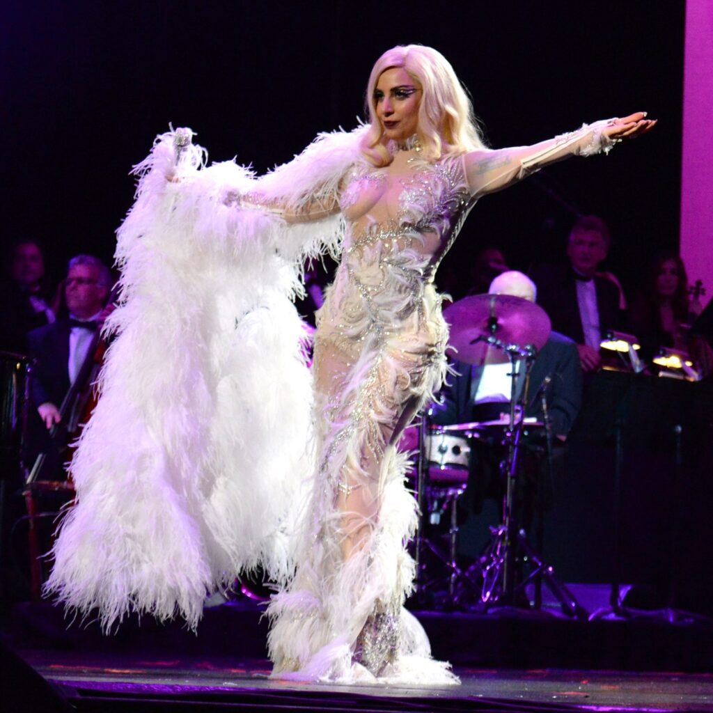 Lady Gaga look - neomag.