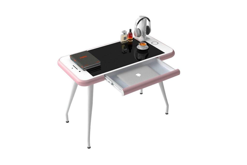 scrivania a forma di iPhone - neomag.
