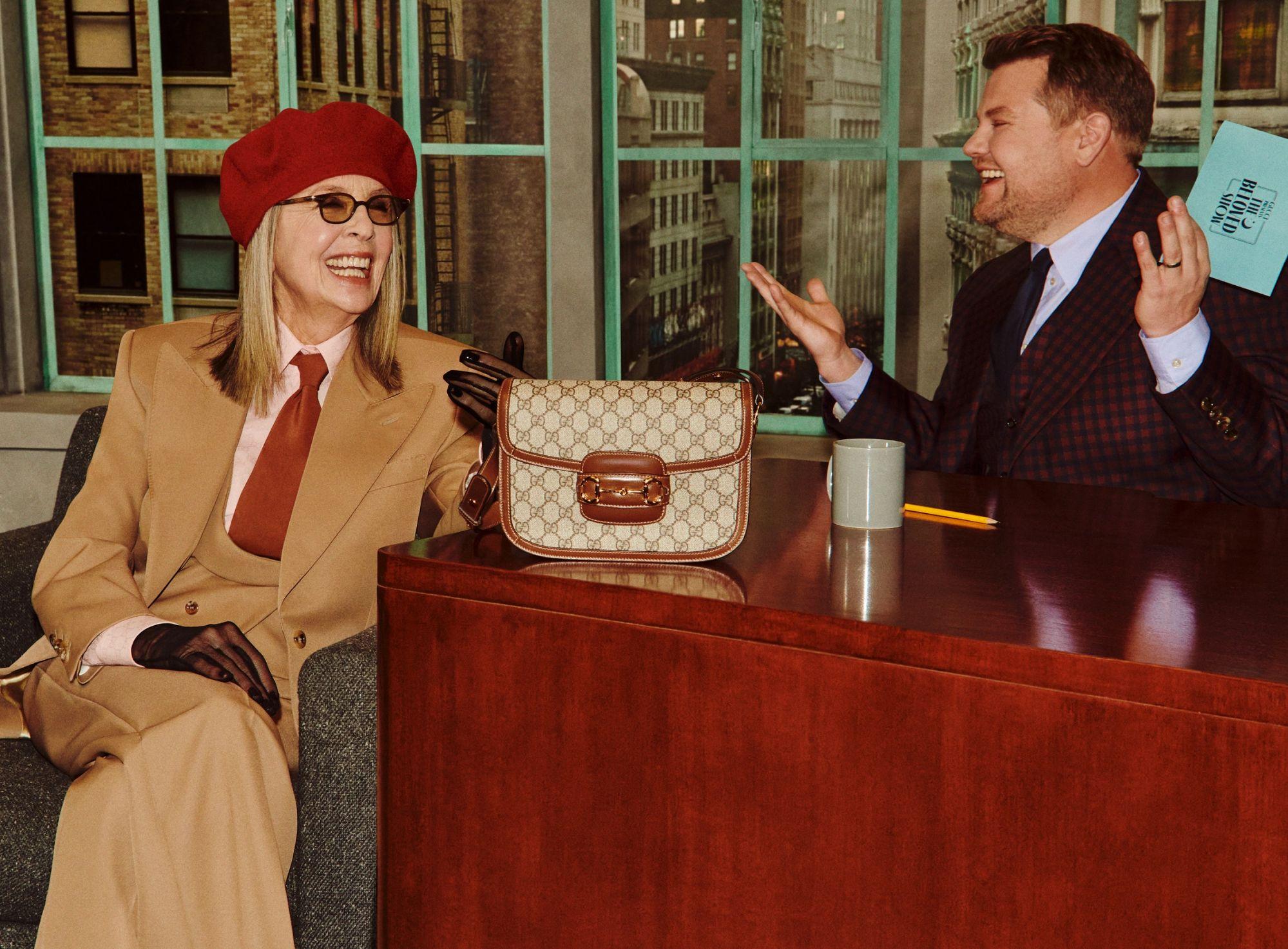 Diane Keaton x gucci - neomag.