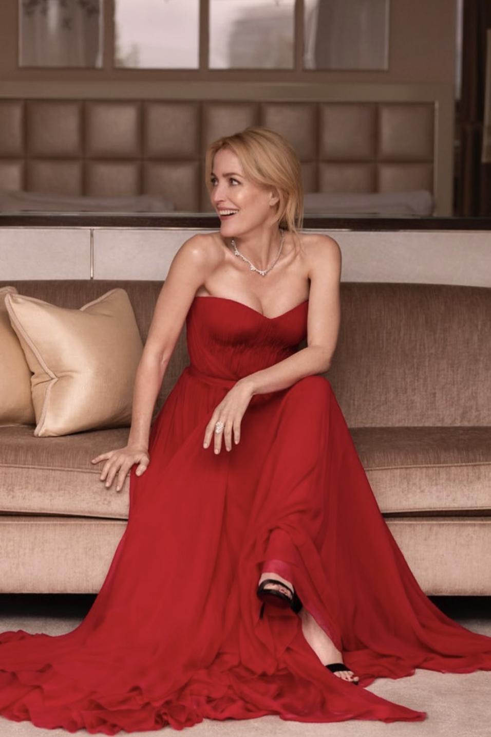 Gillian Anderson ai SAG Awards 2021 - NEOMAG.