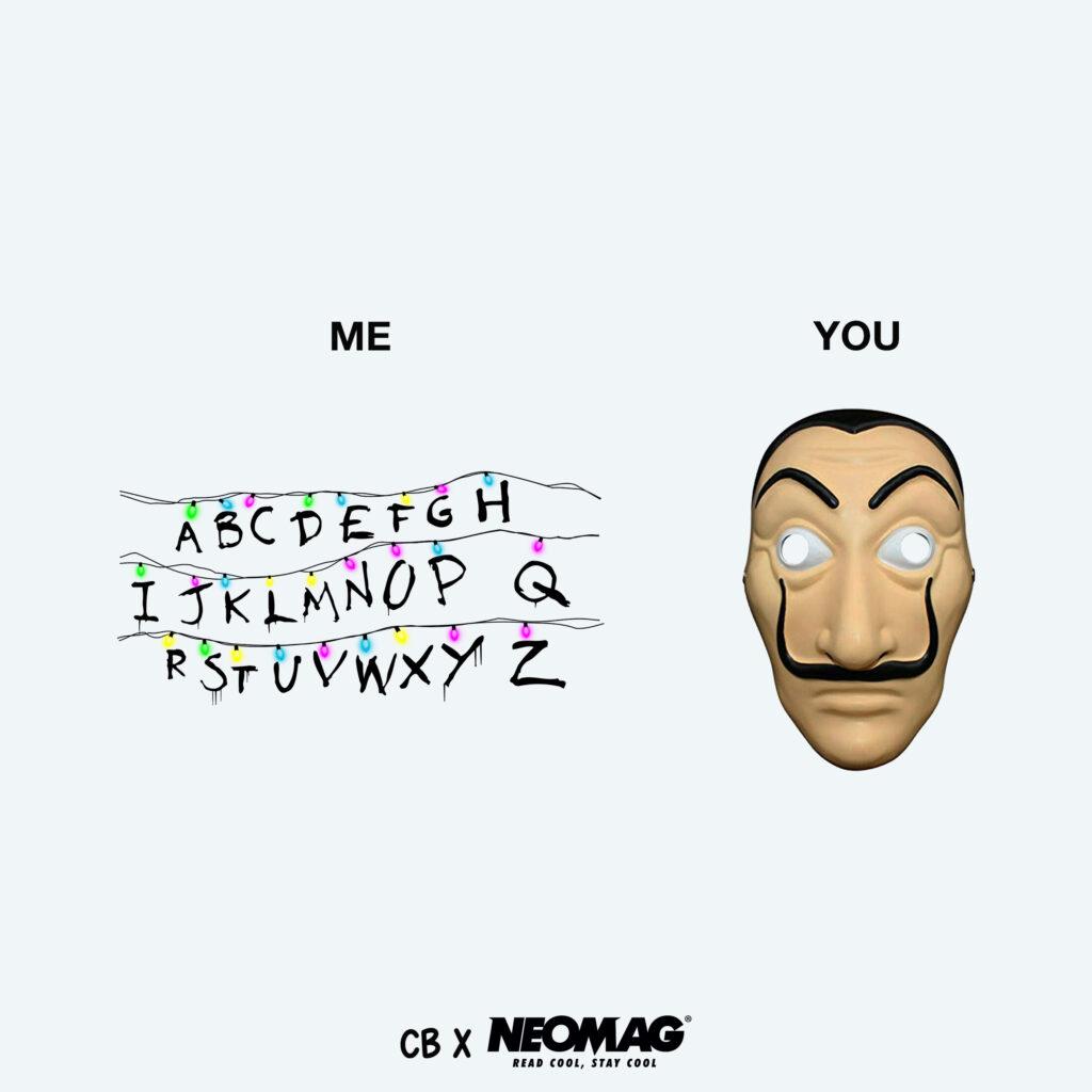 me vs you - neomag.