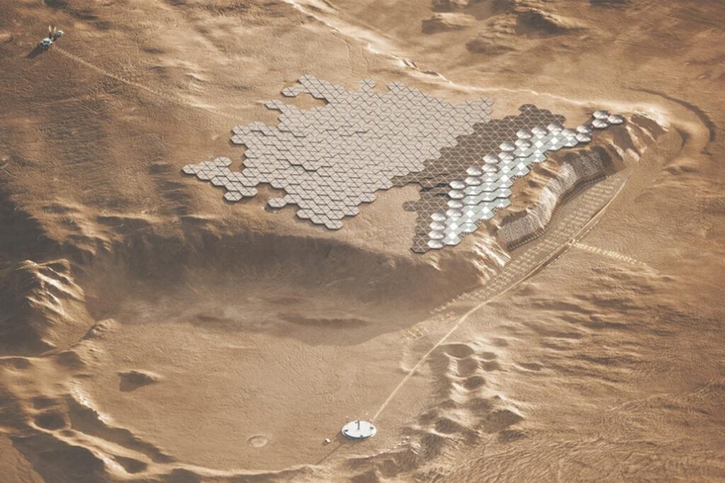prima città su Marte - neomag.