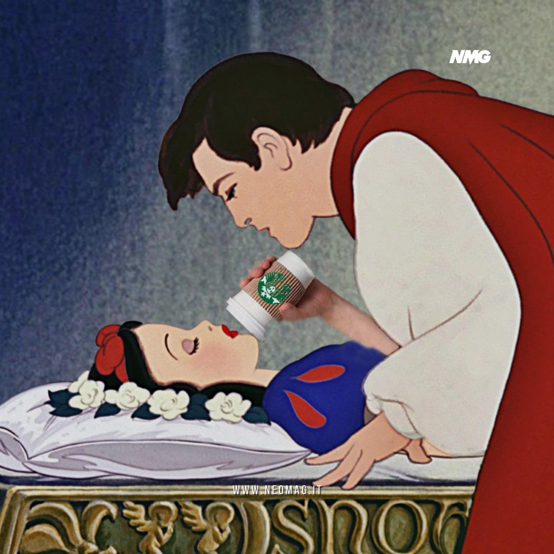 polemica sul bacio di Biancaneve