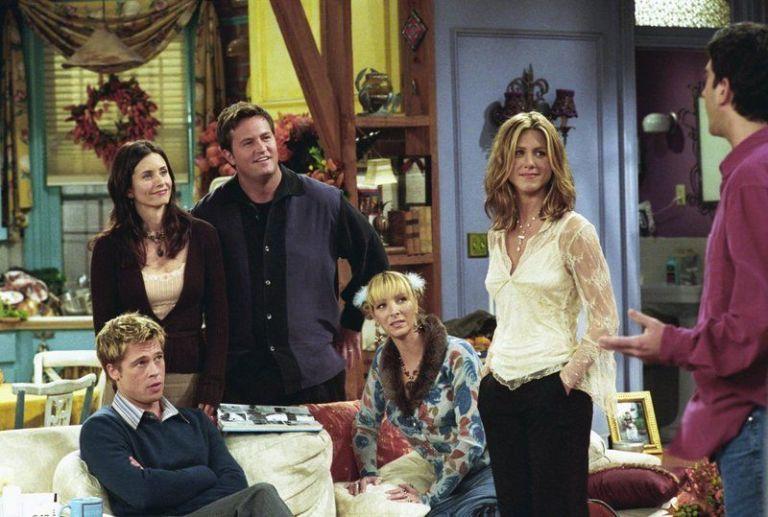Brad pitt in Friends - Neomag.