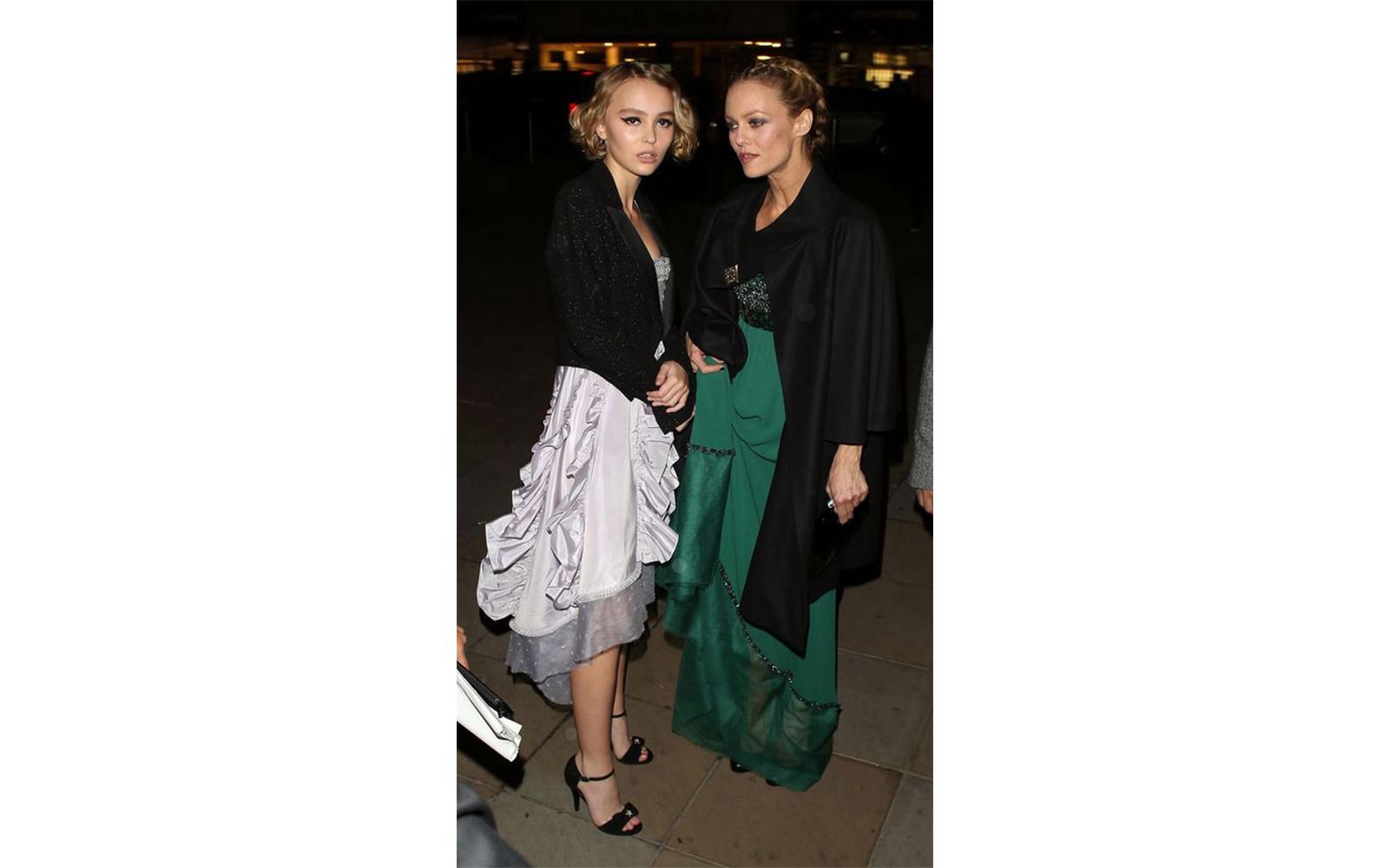 Vanessa Paradis e Lily-Rose Depp - neomag.