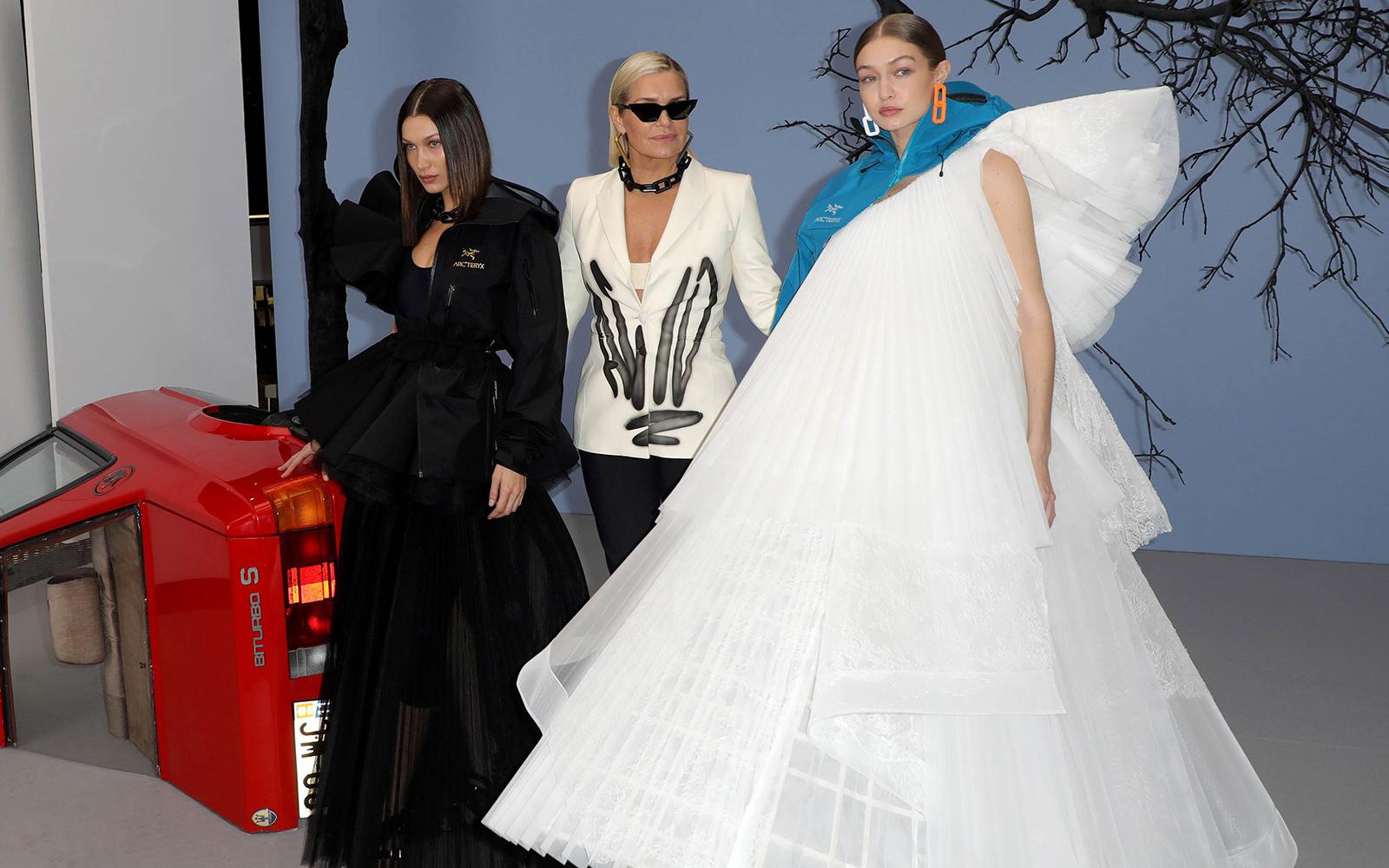 Yolanda, Gigi & Bella Hadid - neomag.