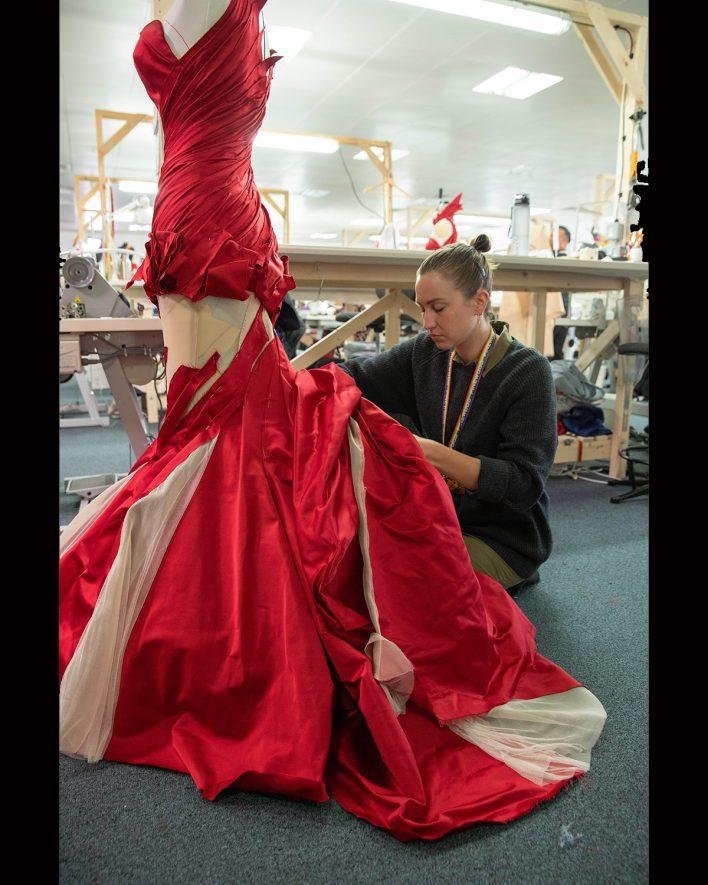 abito rosso crudelia - Neomag.