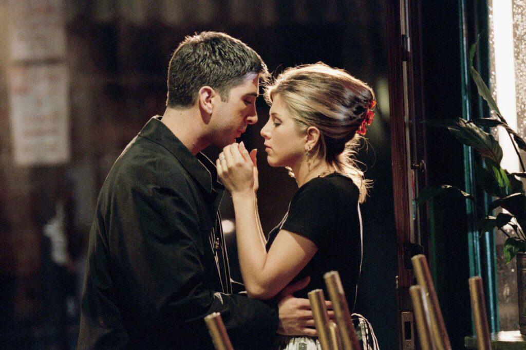 primo bacio rachel e ross - neomag.