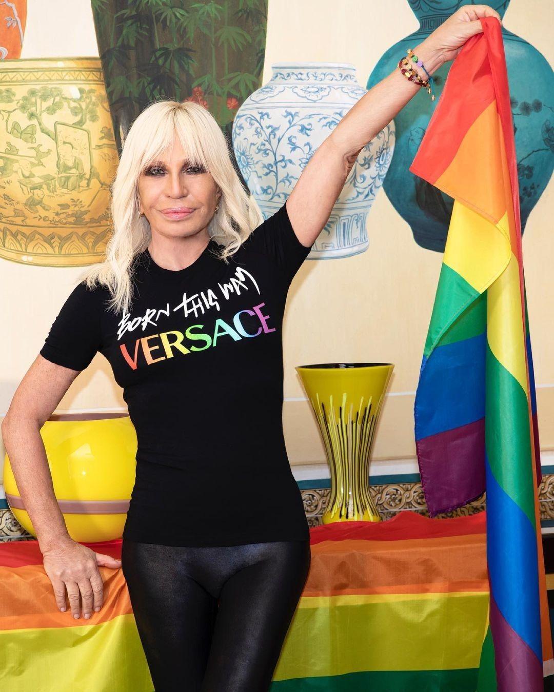 Versace pride month - neomag.