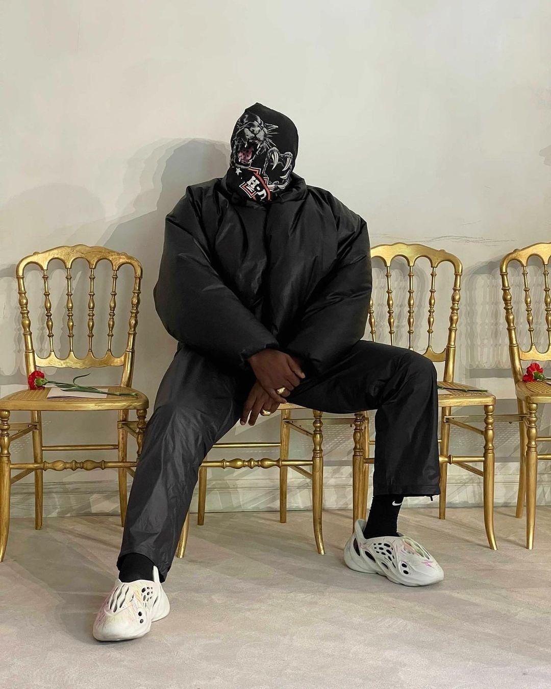 Kanye West Round Jacket - neomag.