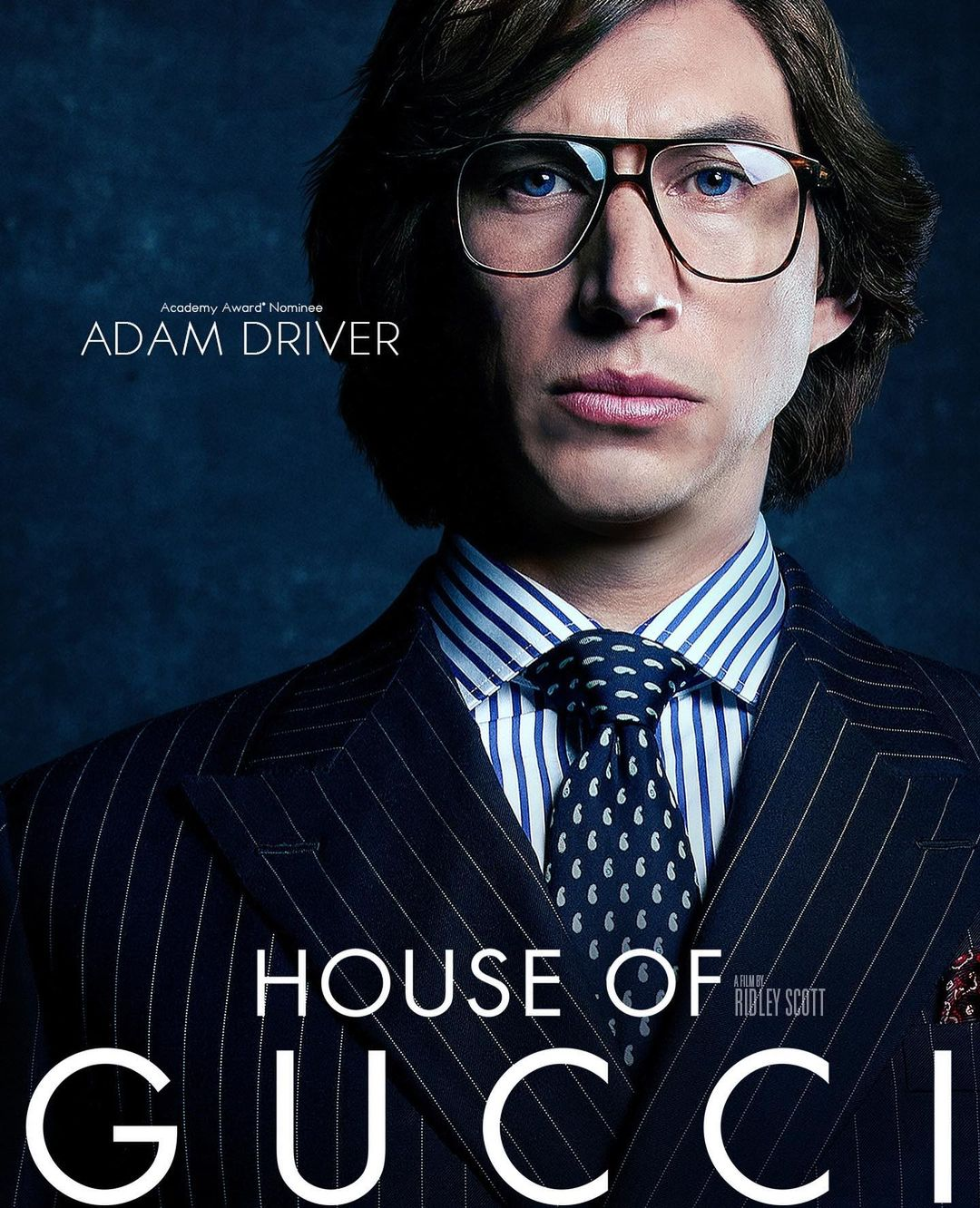 Adam Driver in House of Gucci - neomag.