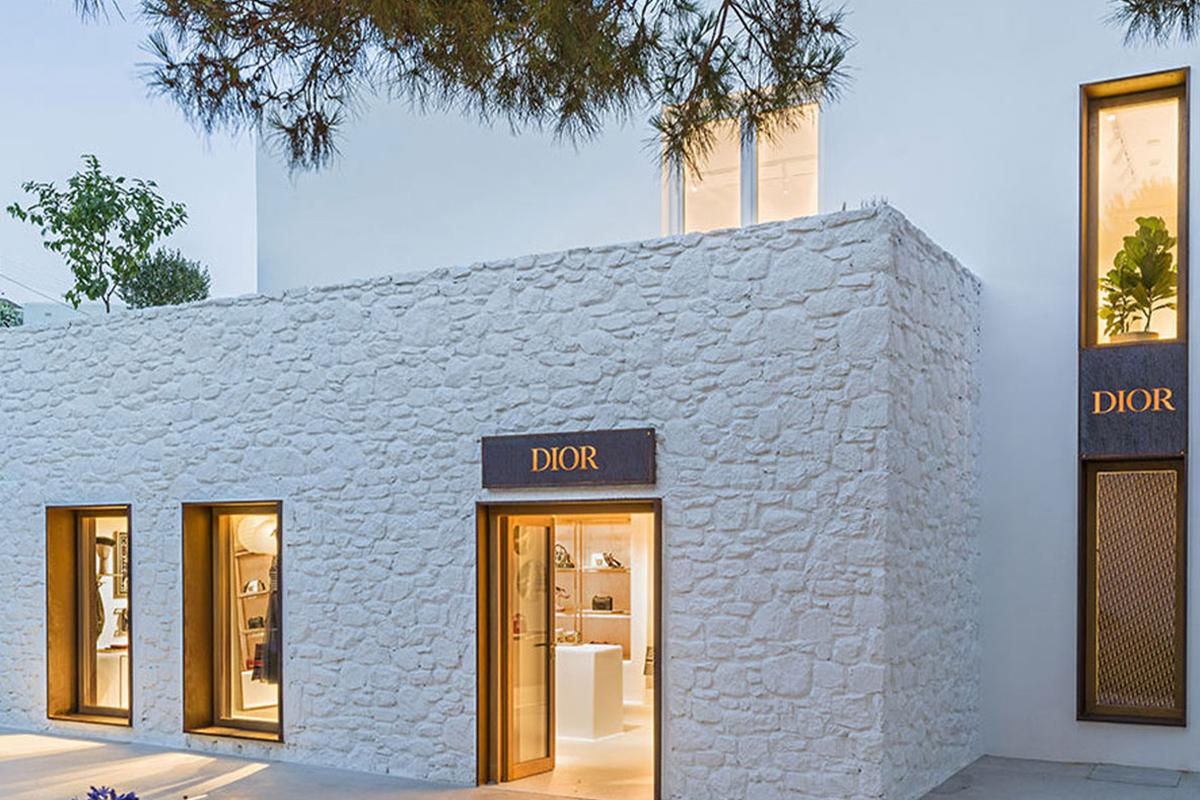 Dior a Mykonos - neomag.
