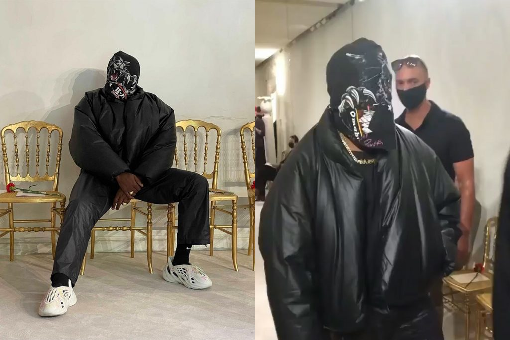 Kanye West da Balenciaga - neomag.