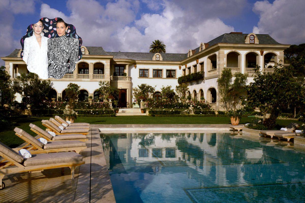 Villa sorelle Hadid - Neomag.