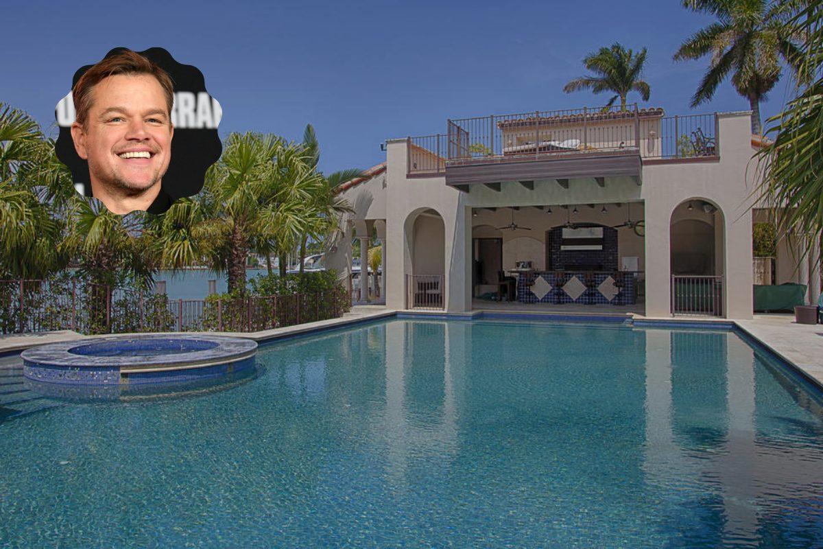 Villa Matt Damon - neomag.