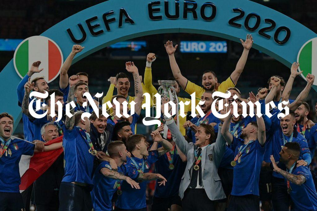 Times celebra l'Italia - neomag.
