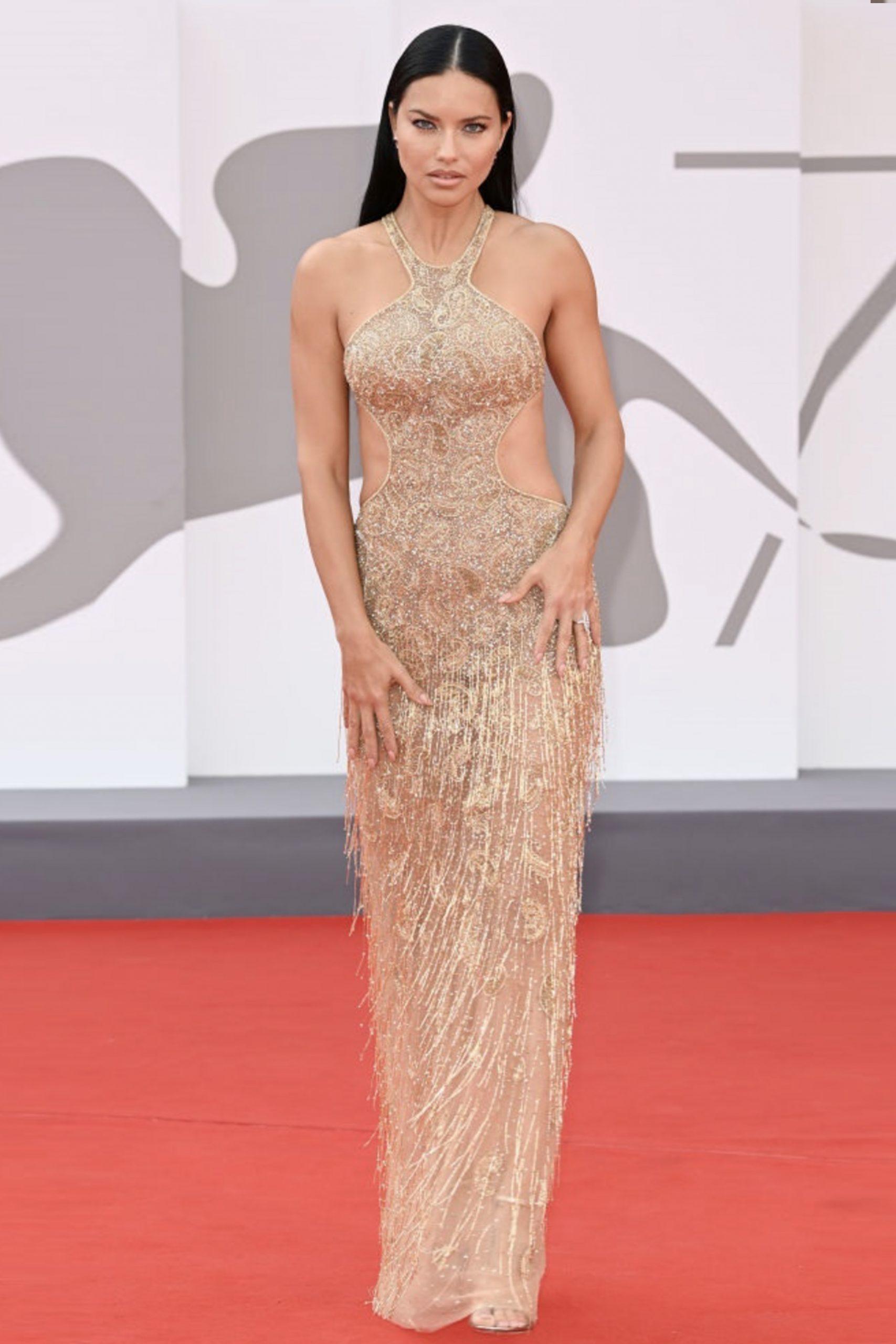 Adriana Lima in Etro al Festival di Venezia - Neomag.