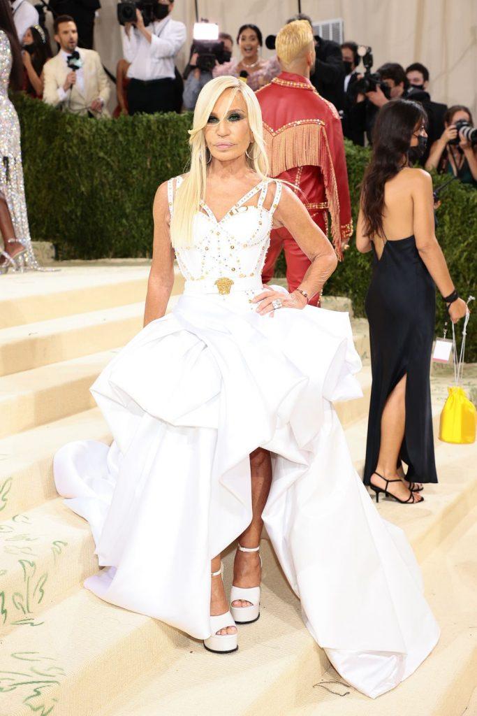Donatella Versace in Versace - neomag.
