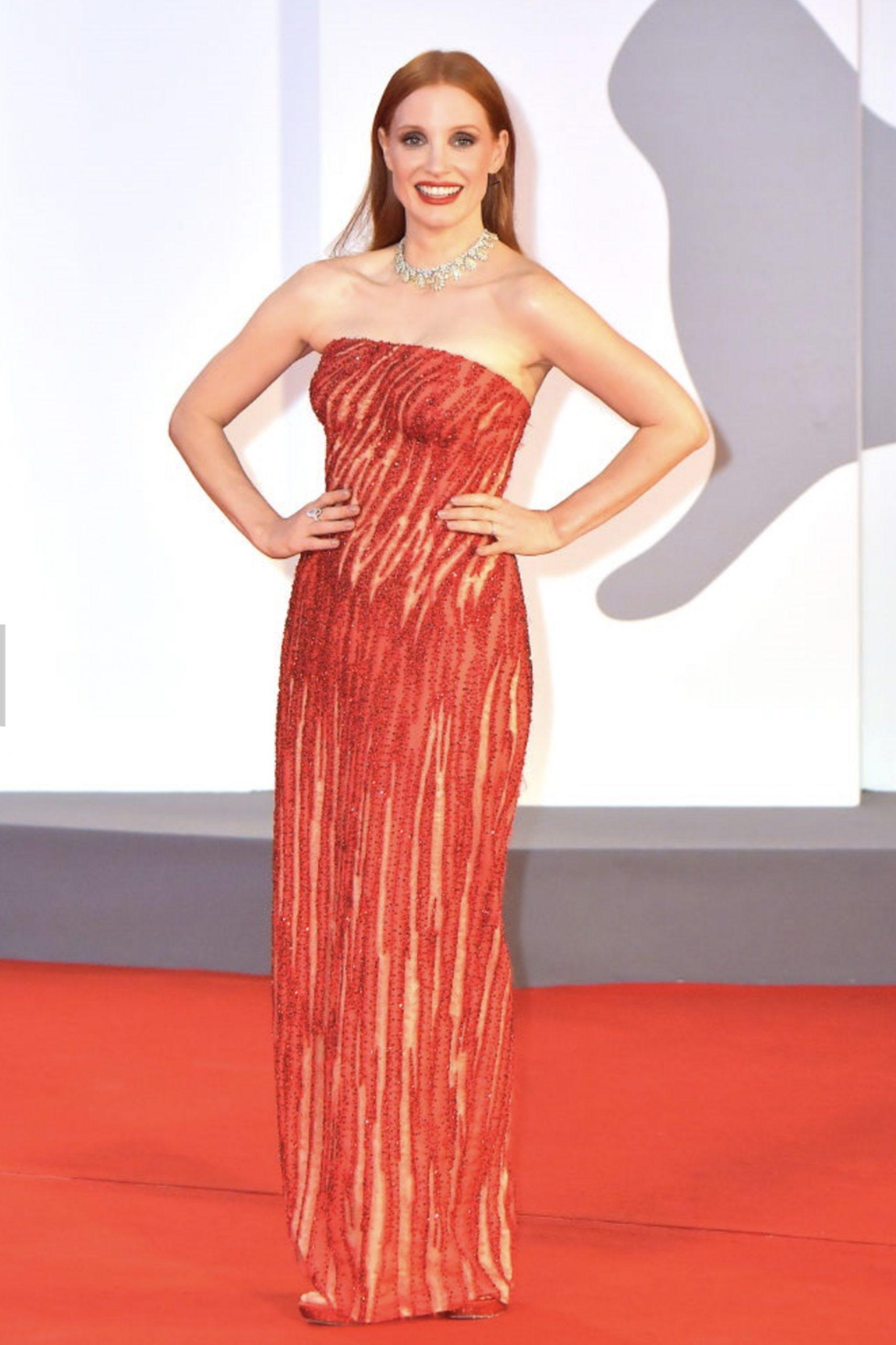 Jessica Chastain al Festival di Venezia - Neomag.