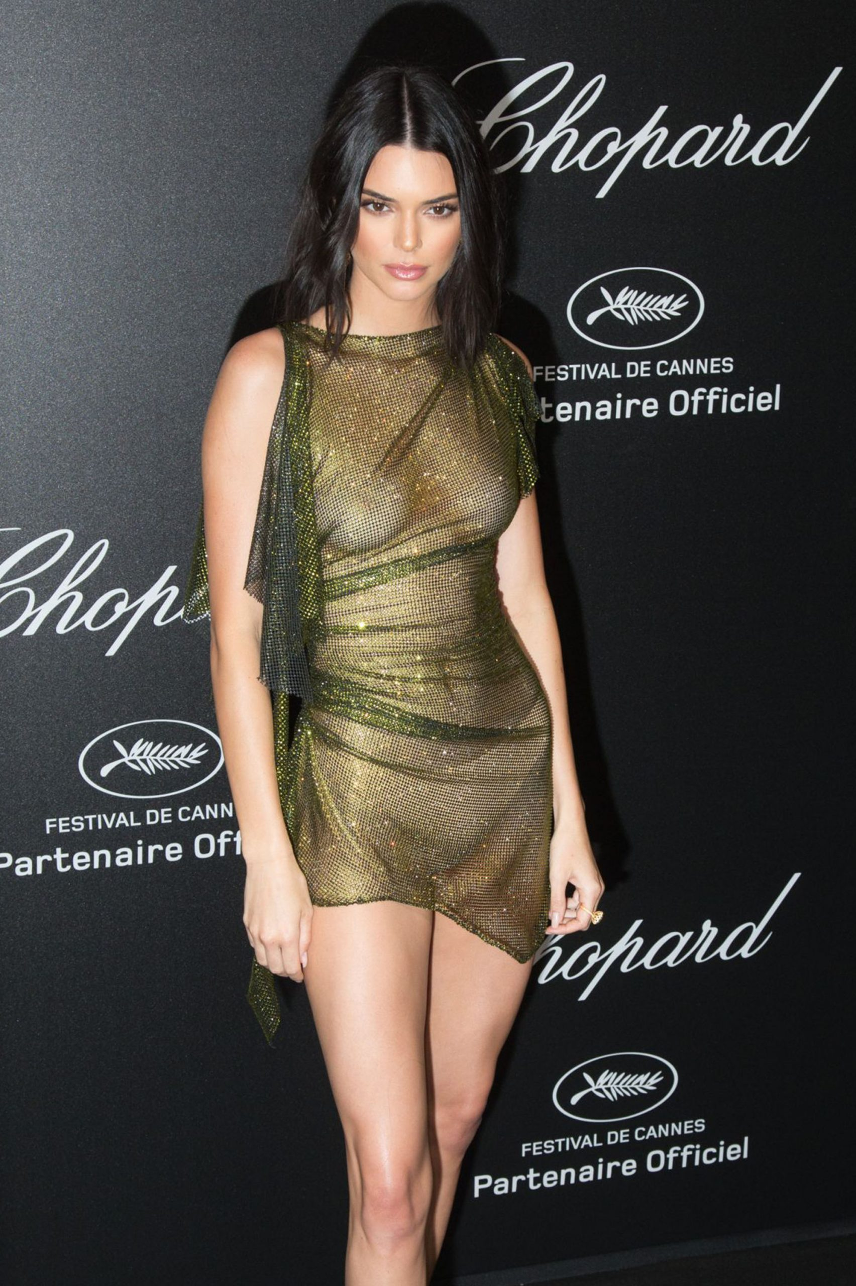 Kendall naked dress - Neomag.