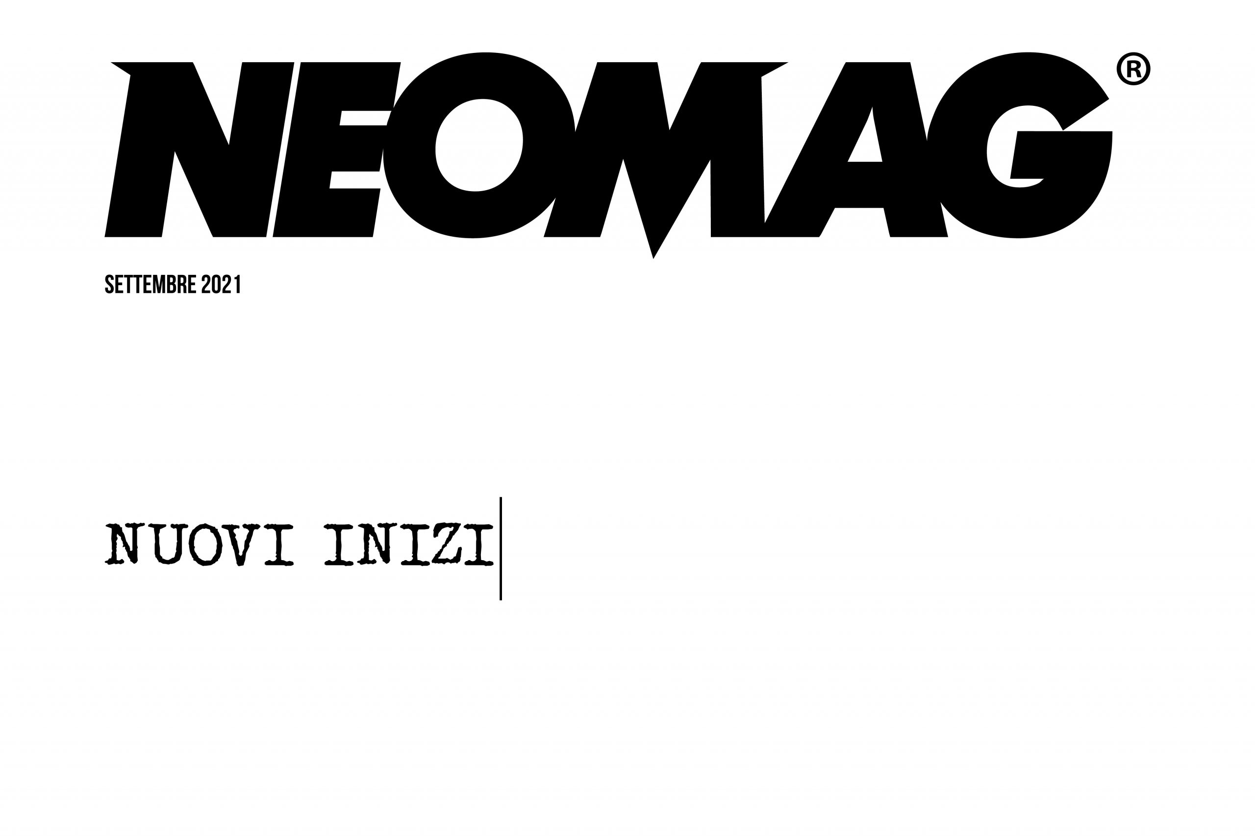 Nuovi Inizi Cover - Neomag.