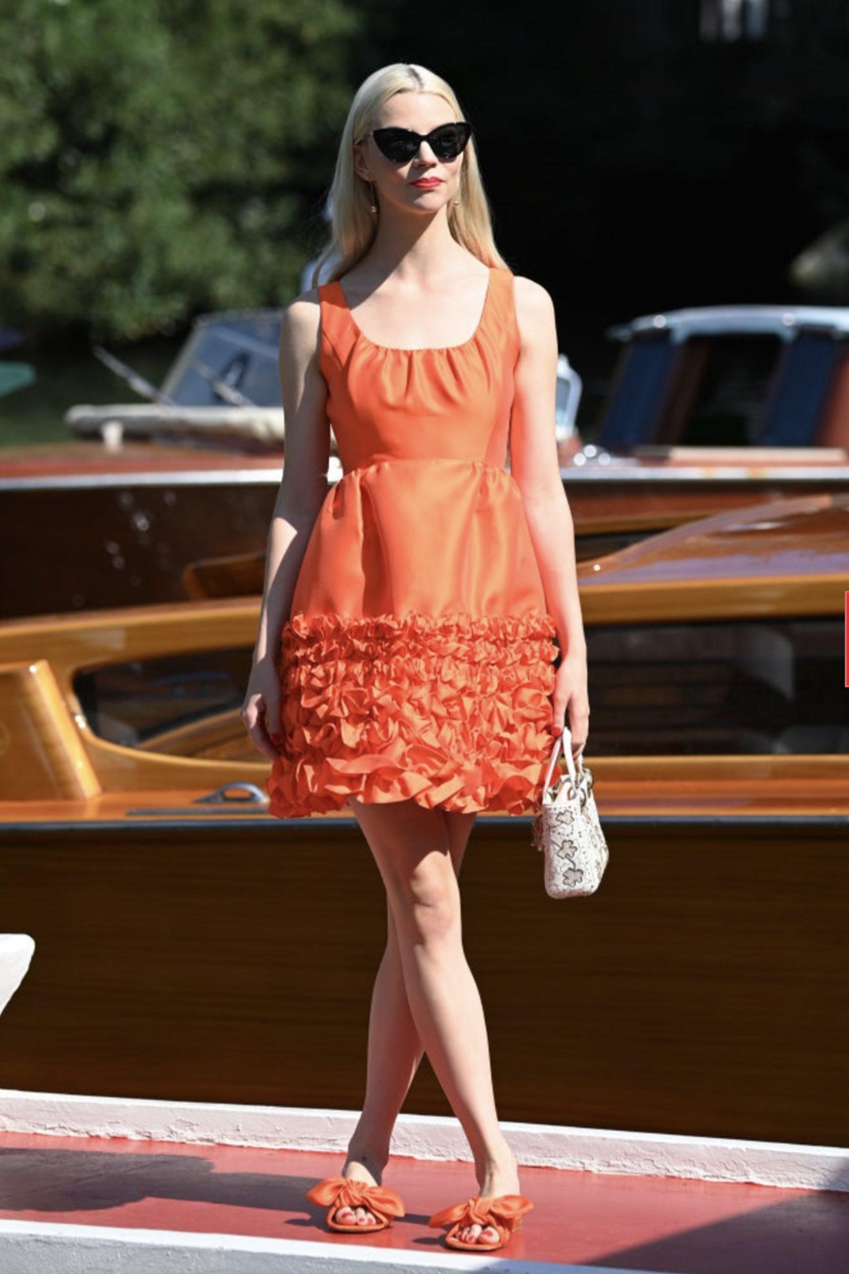 Taylor Joy al Festival di Venezia - Neomag.