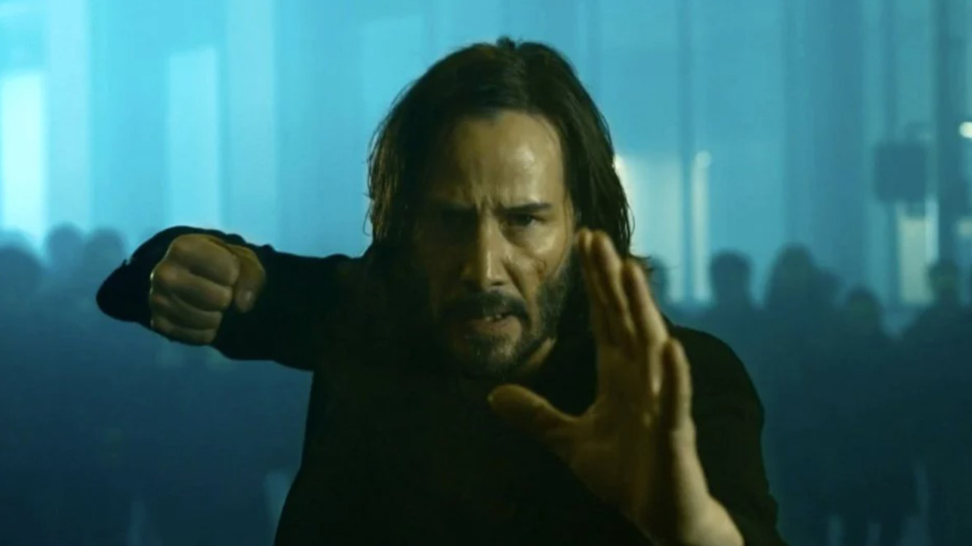 keanu reeves in Matrix - Neomag.